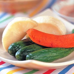 味噌漬根莖蔬菜