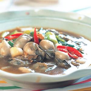 味噌牡蠣燒