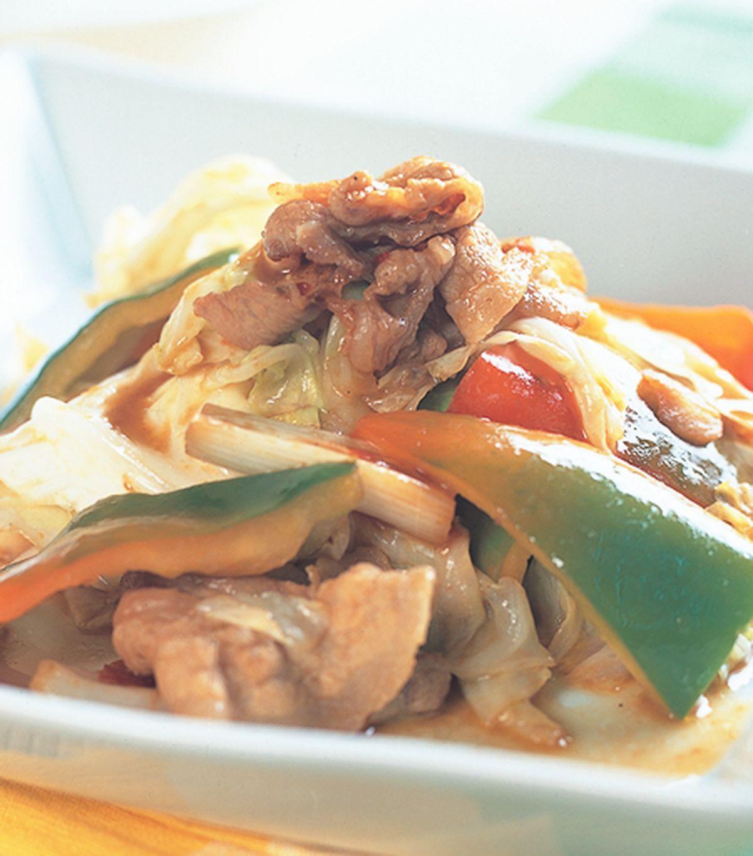 食譜:味噌回鍋肉