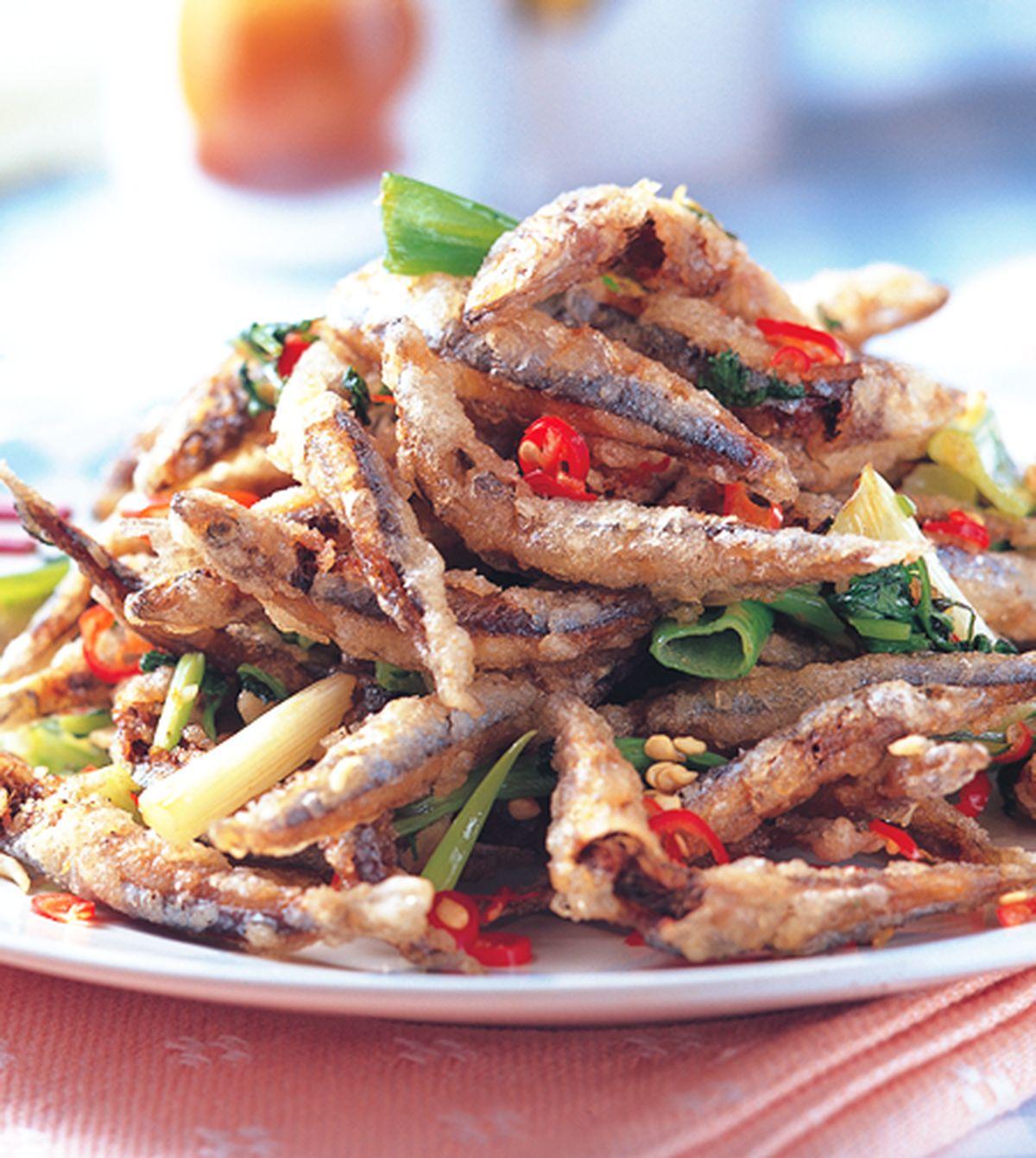 食譜:椒鹽丁香魚