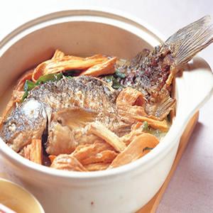 薑蔥鯉魚煲