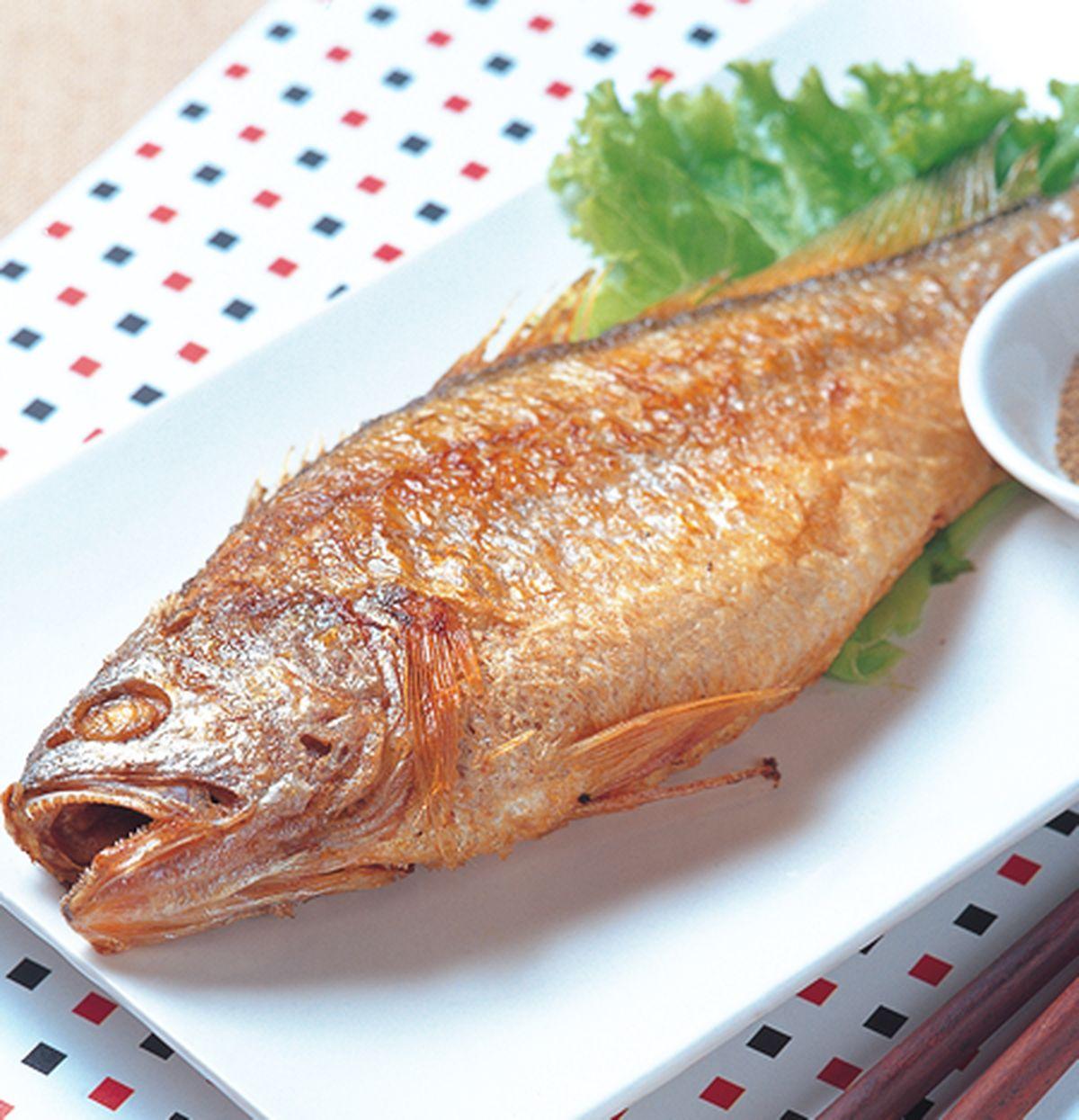食譜:乾煎黃魚