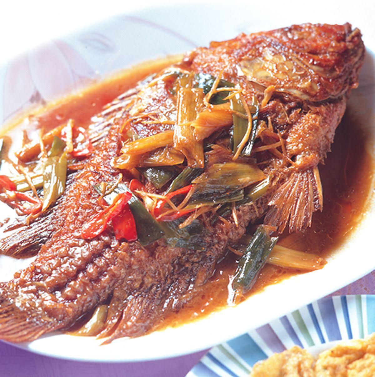 食譜:紅燒魚