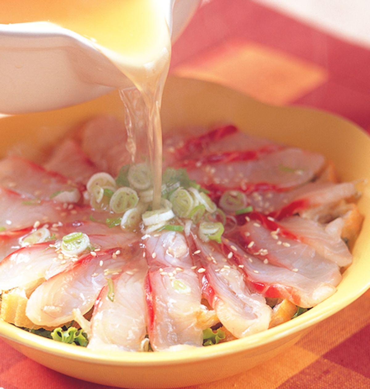 食譜:生菜魚生湯