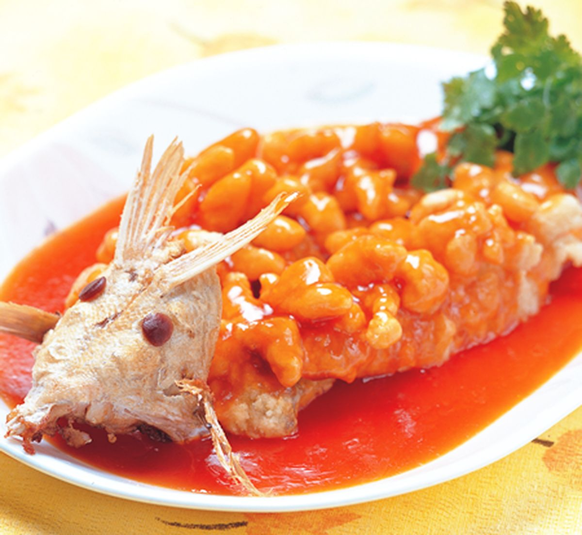 食譜:松鼠黃魚