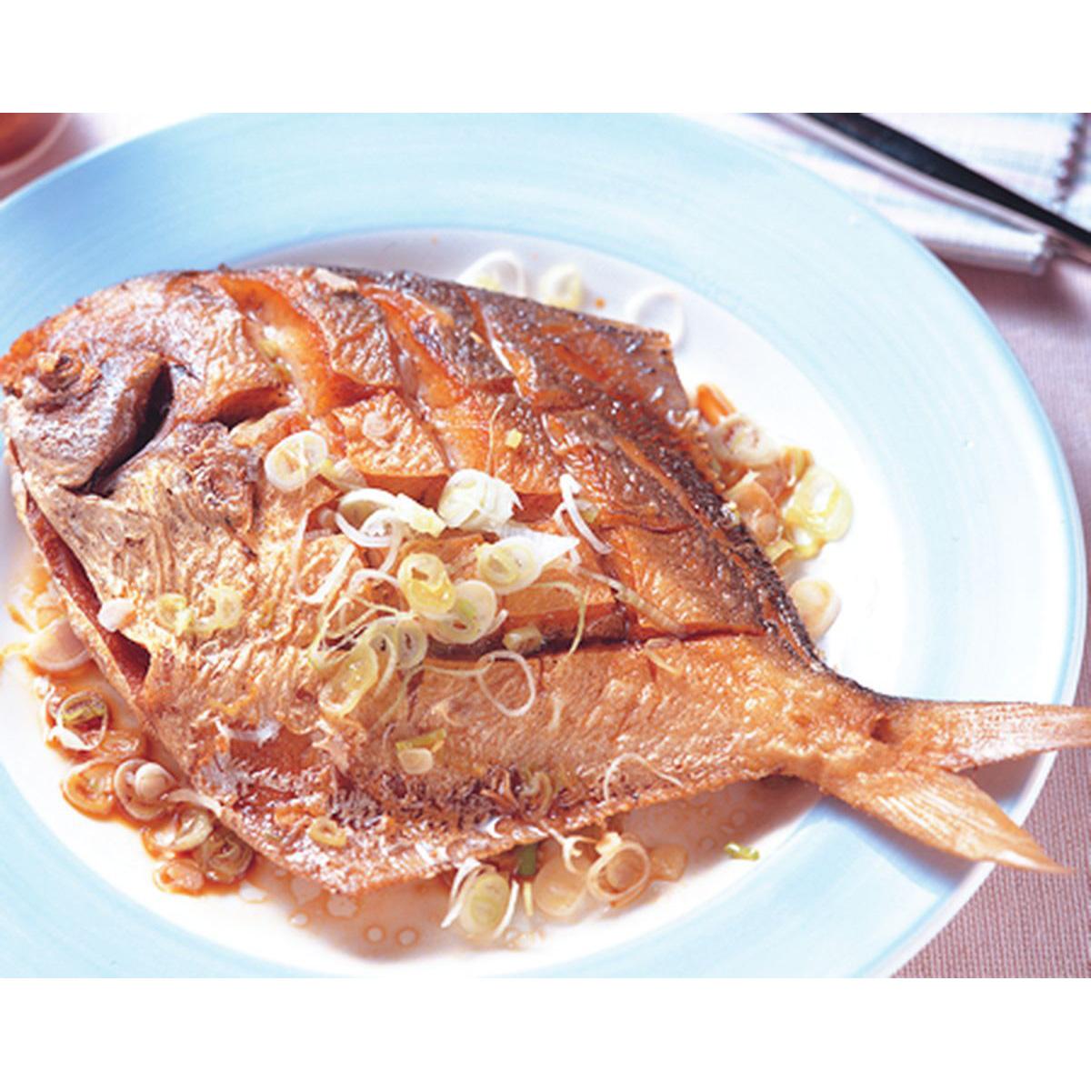 食譜:椒鹽鯧魚