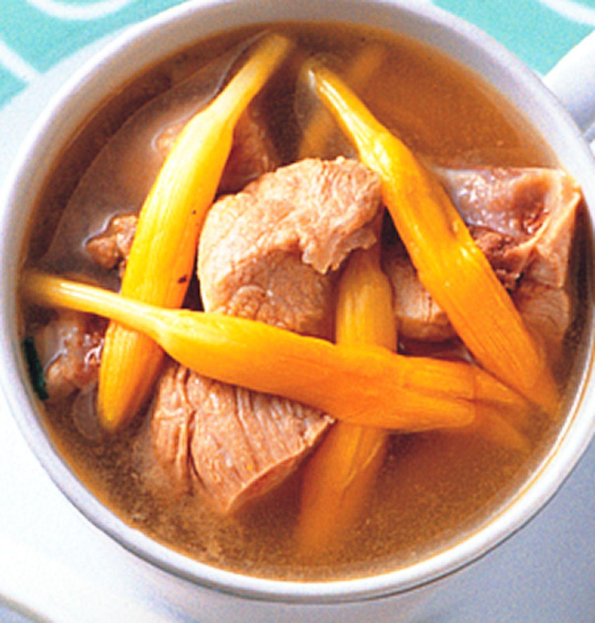 食譜:金針排骨湯