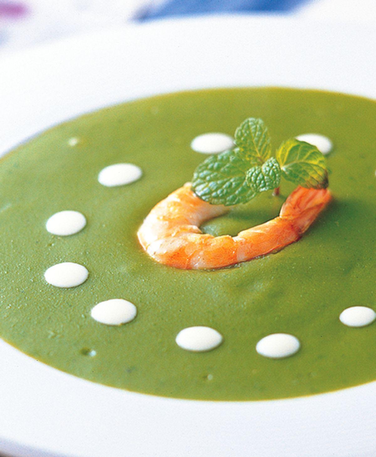食譜:鮮蝦菠菜濃湯