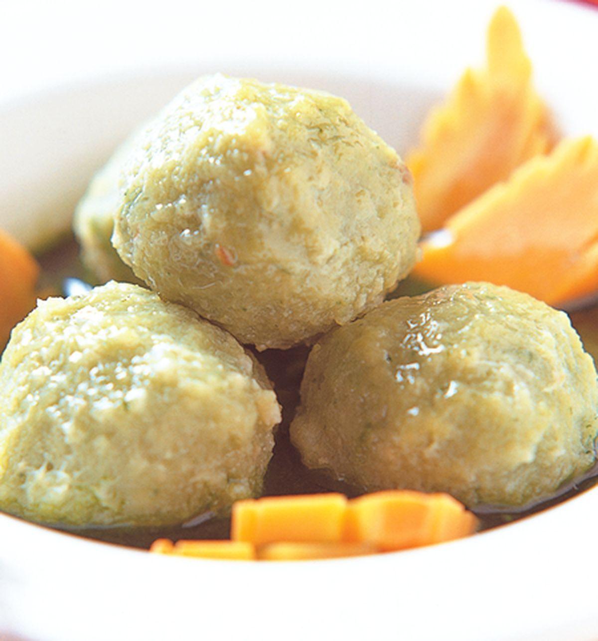 食譜:菠菜綠丸子