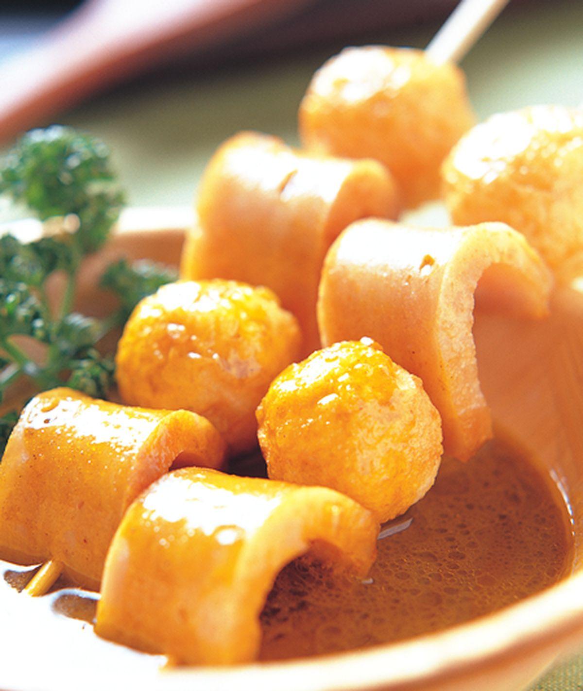 食譜:咖哩魚蛋片
