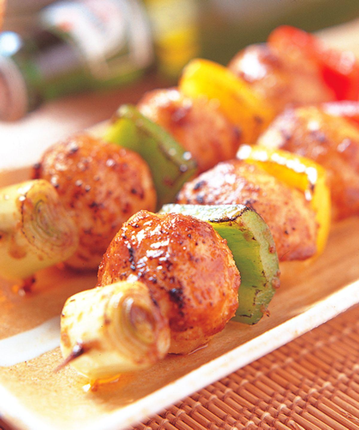 食譜:沙爹雞肉丸