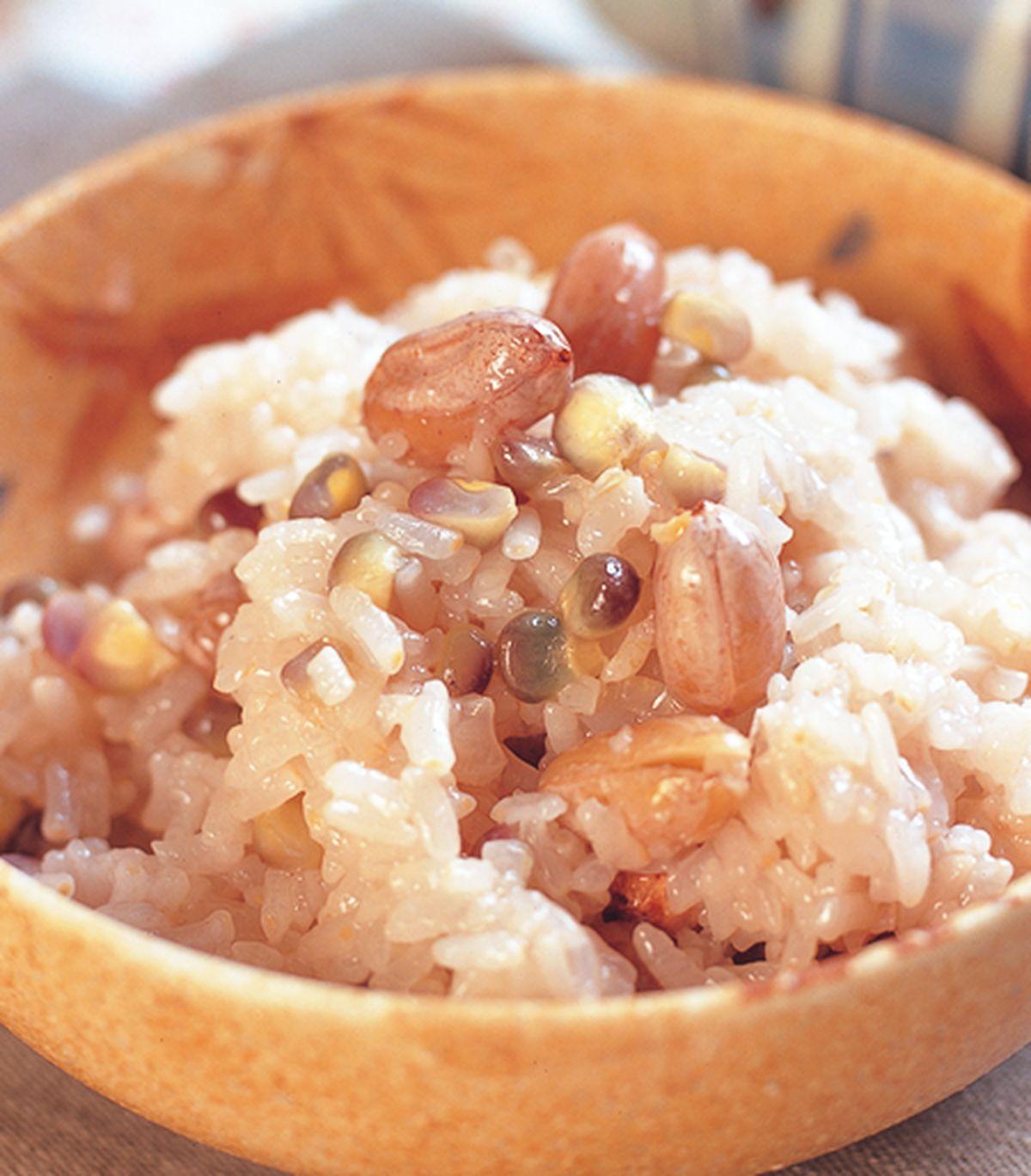 食譜:花生糯米飯(1)