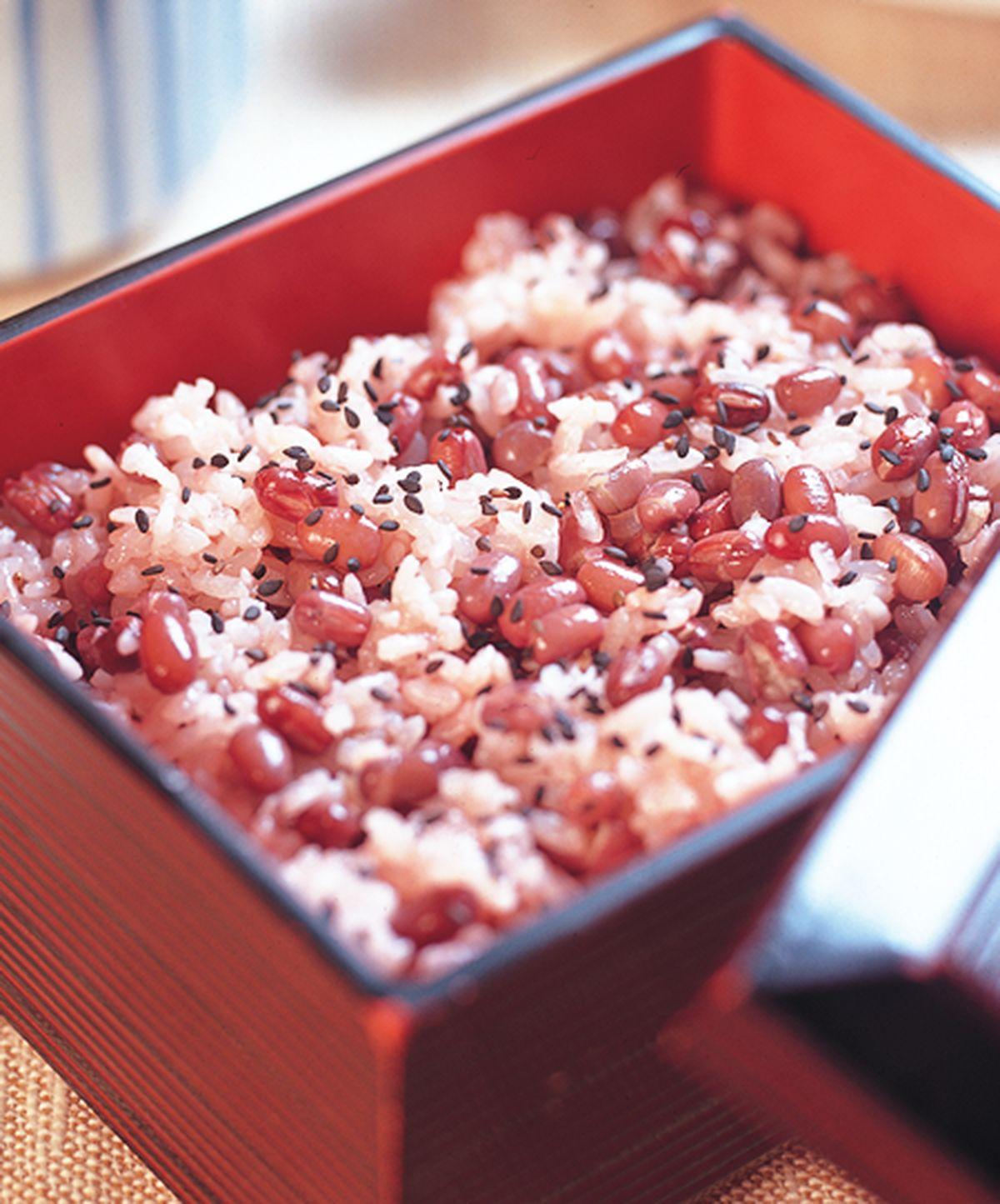 食譜:紅豆飯(1)