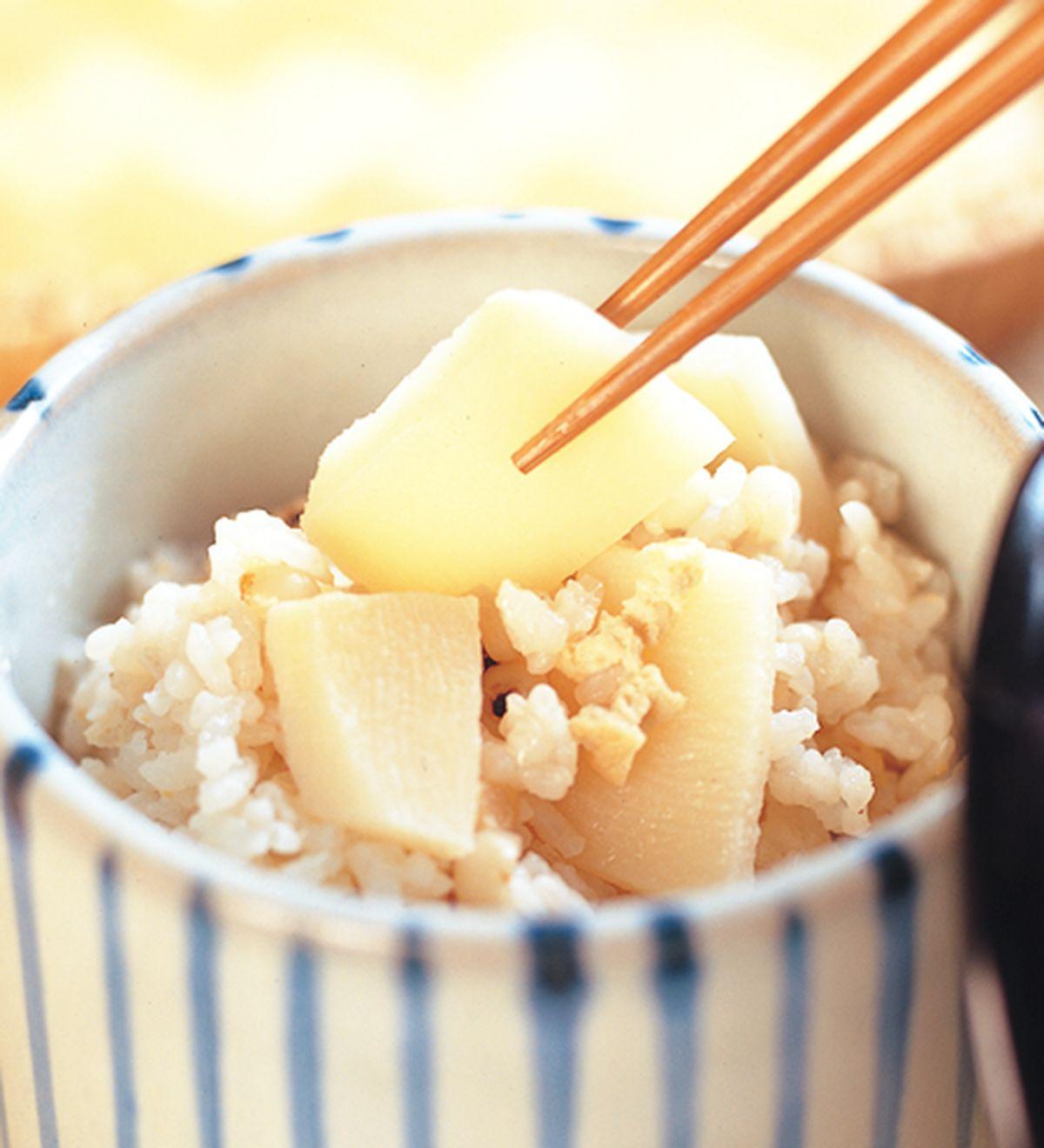 食譜:竹筍飯