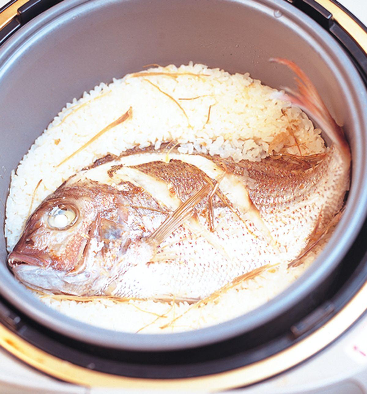 食譜:鯛魚飯
