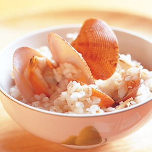 薑絲海瓜子飯