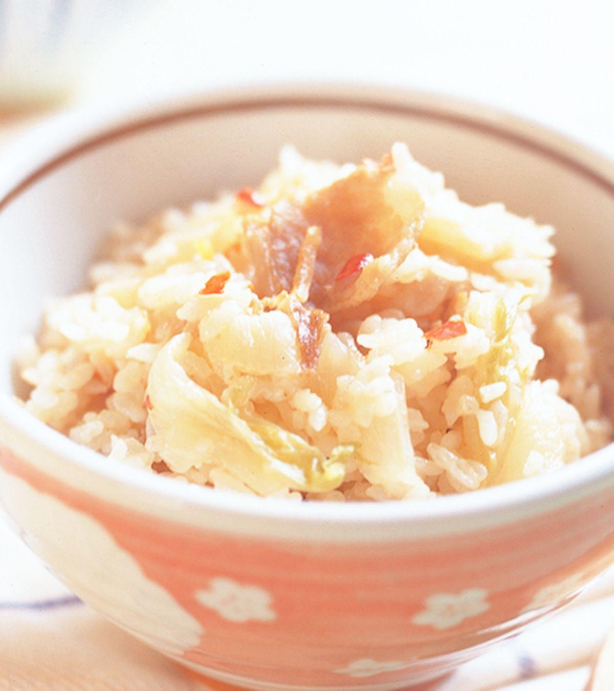 食譜:韓式泡菜飯