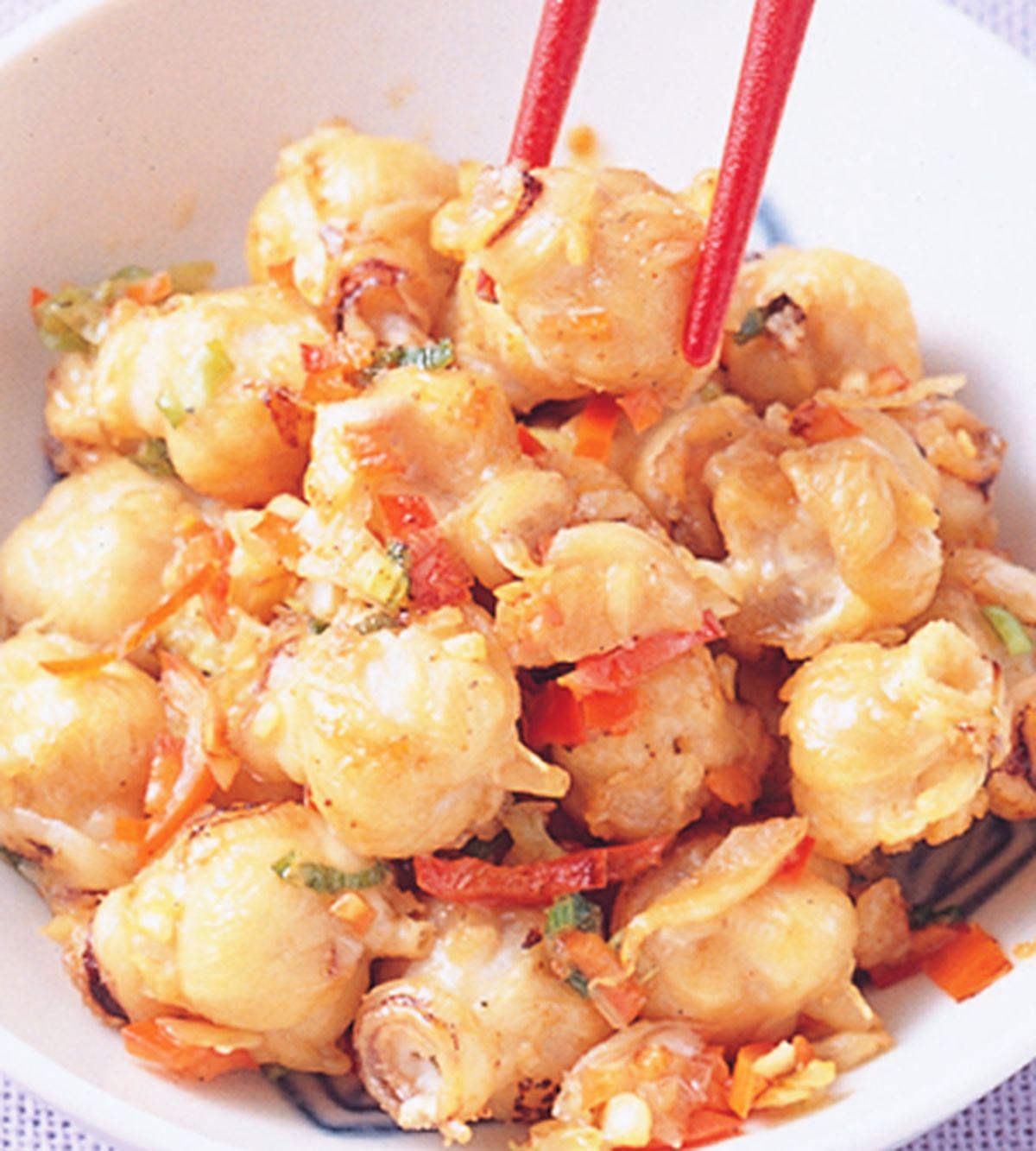 食譜:椒鹽龍珠