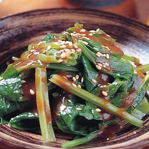 芝麻菠菜(1)