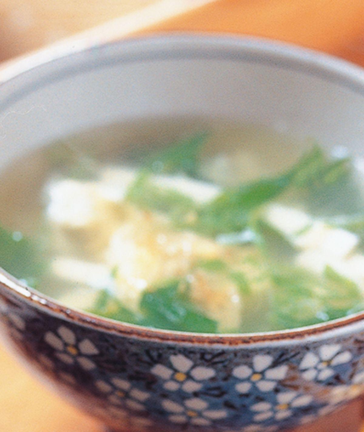 食譜:菠菜豆腐湯