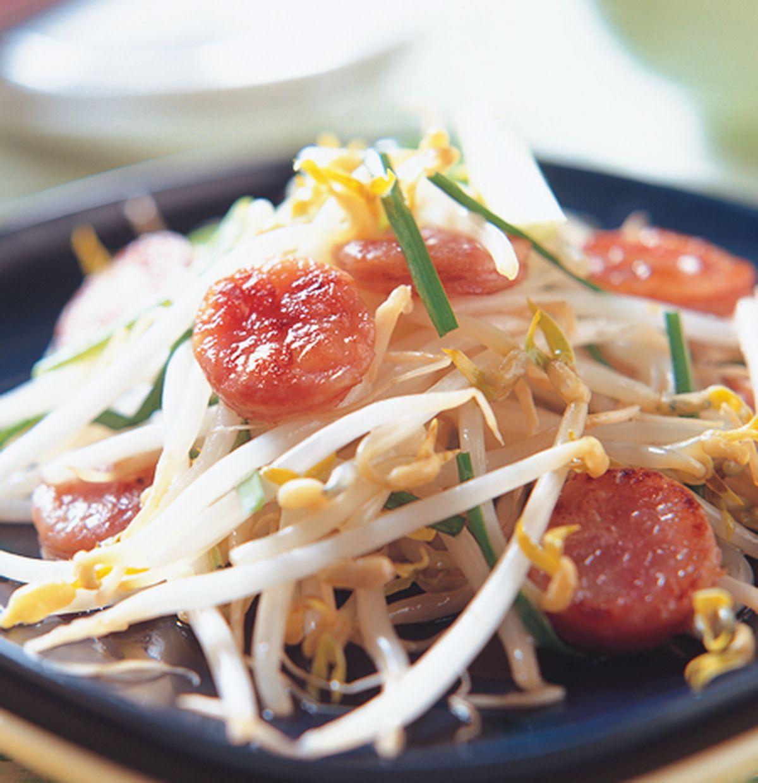 食譜:香腸炒豆芽
