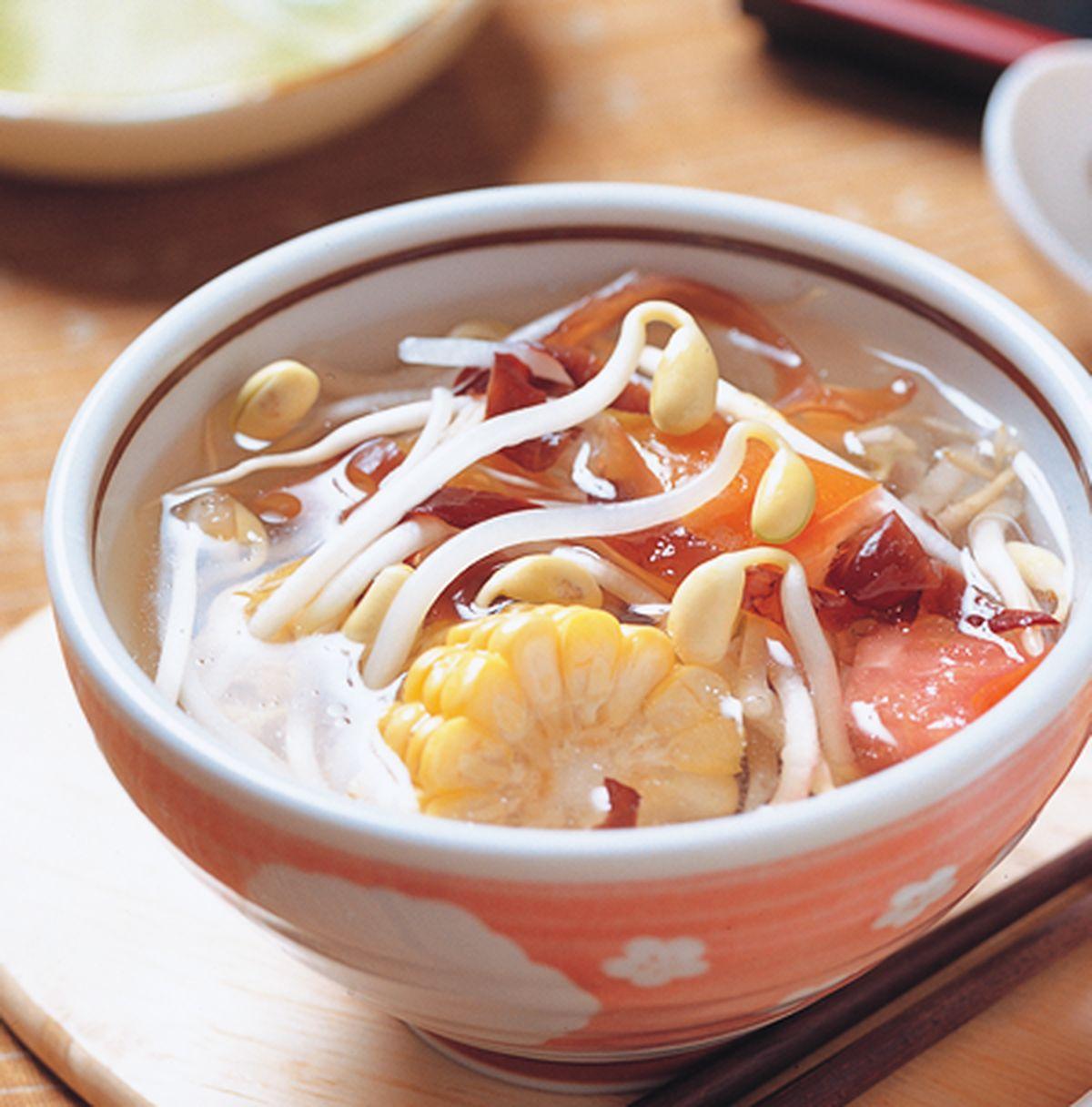 食譜:豆芽木耳湯(1)