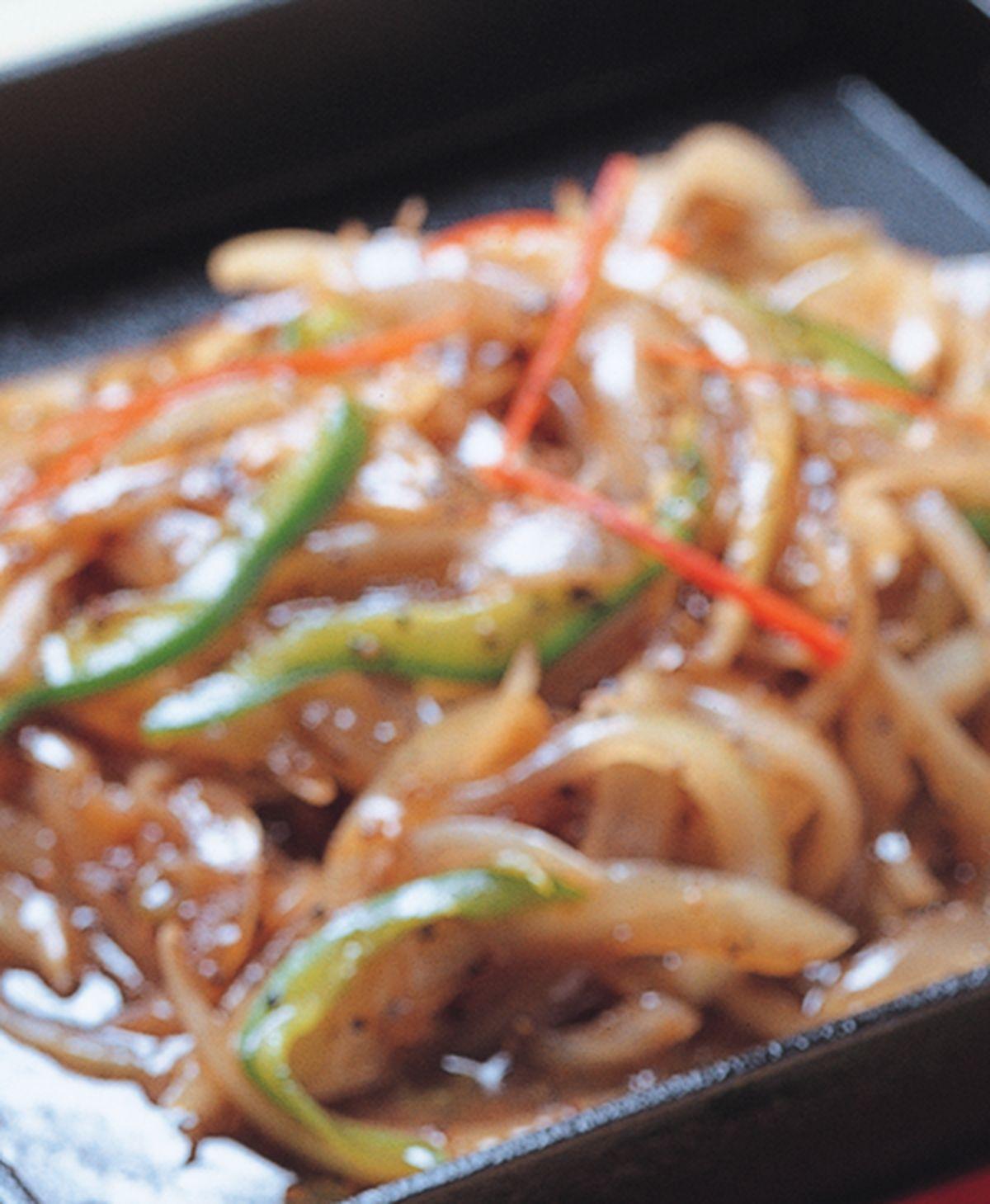 食譜:鐵板洋蔥