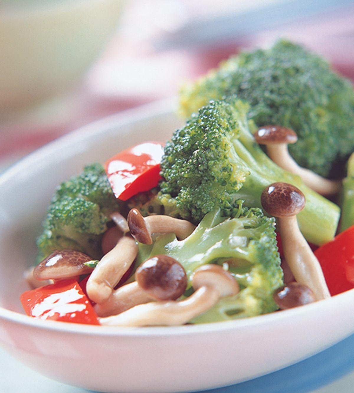 食譜:鴻禧菇炒花椰菜