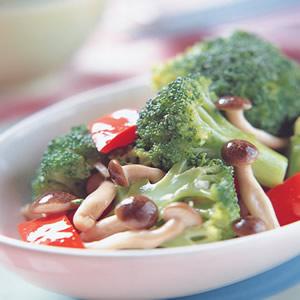 鴻禧菇炒花椰菜