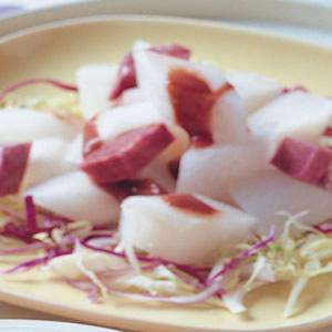 紫山藥蘿蔔沙拉
