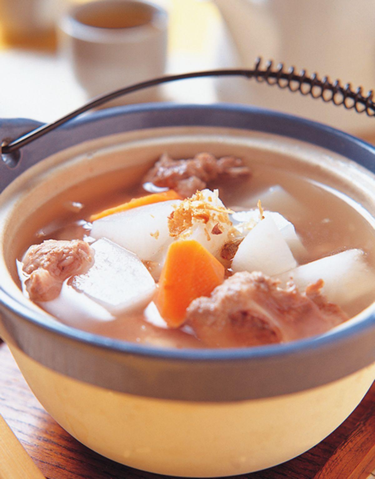 食譜:蘿蔔排骨湯