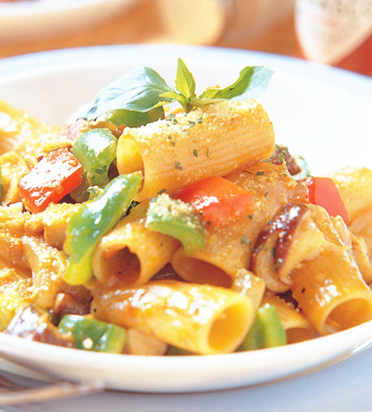 食譜:咖哩義大利水管麵