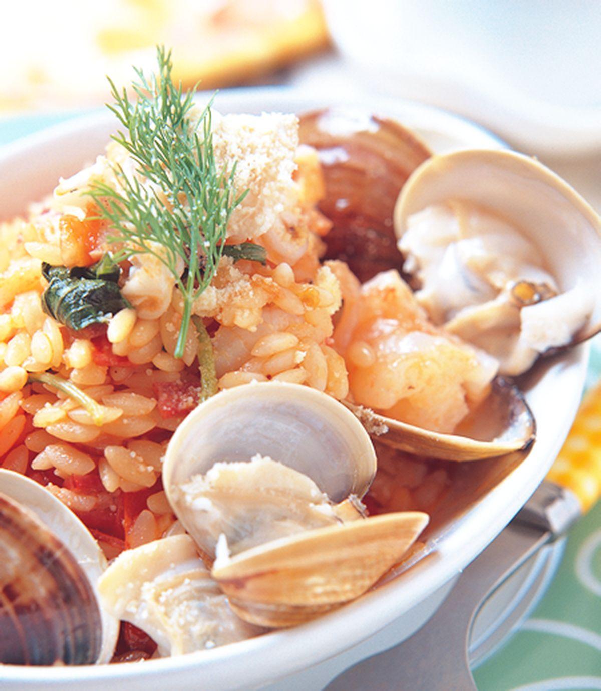 食譜:海鮮米粒麵