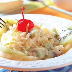 檸檬優格米粒沙拉麵
