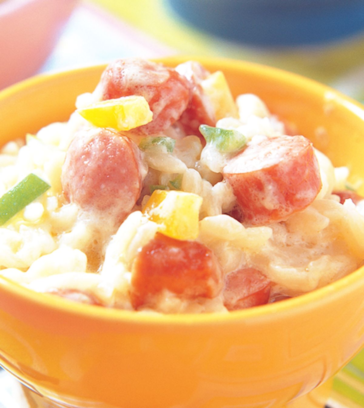 食譜:法蘭克福米粒麵