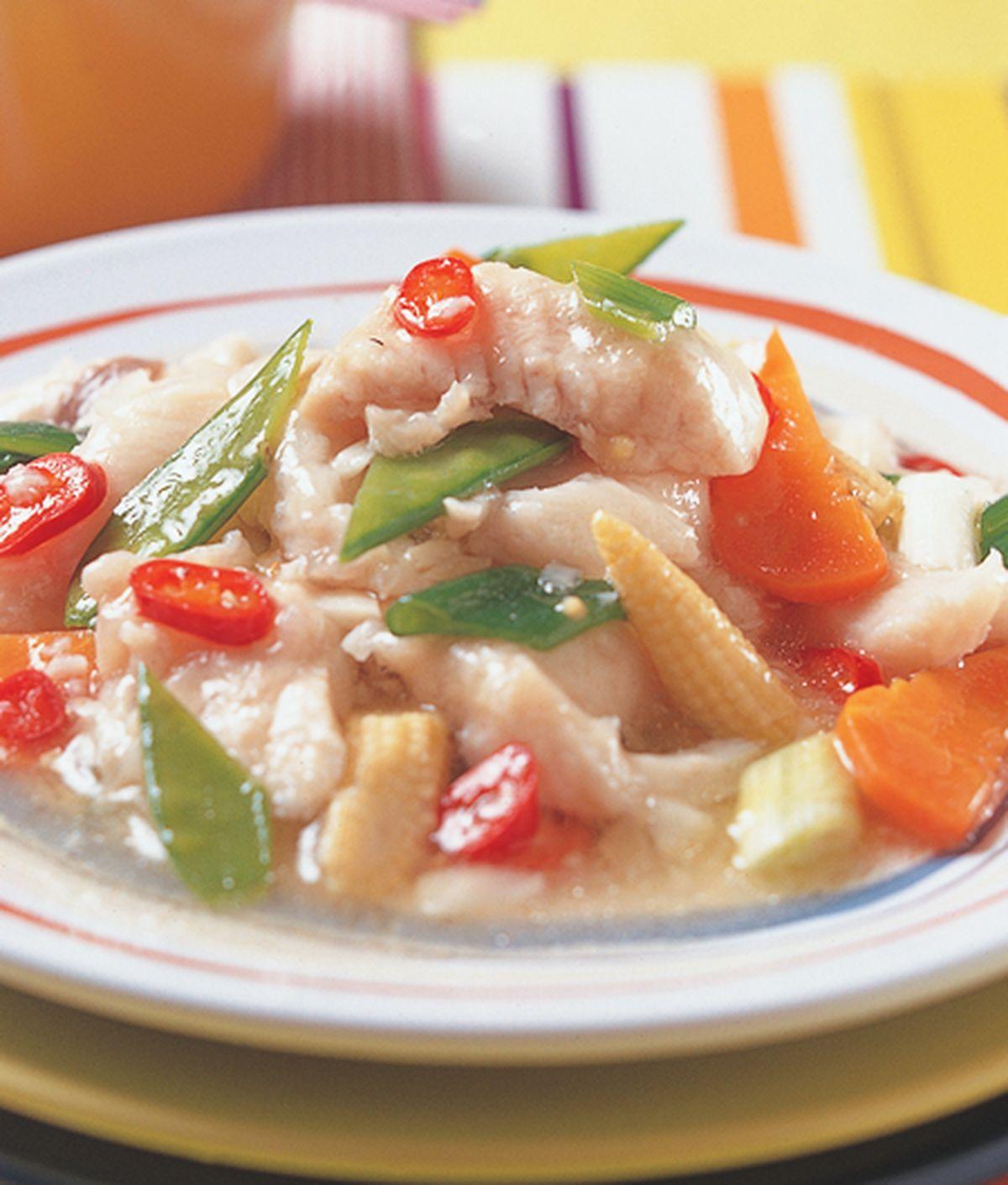 食譜:清炒魚片