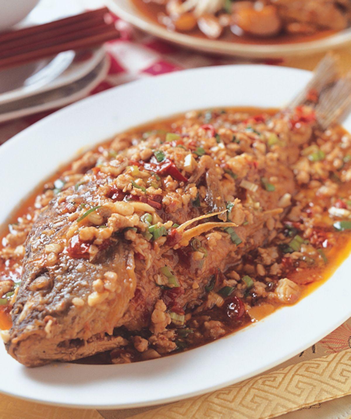 食譜:豆瓣鯉魚(3)