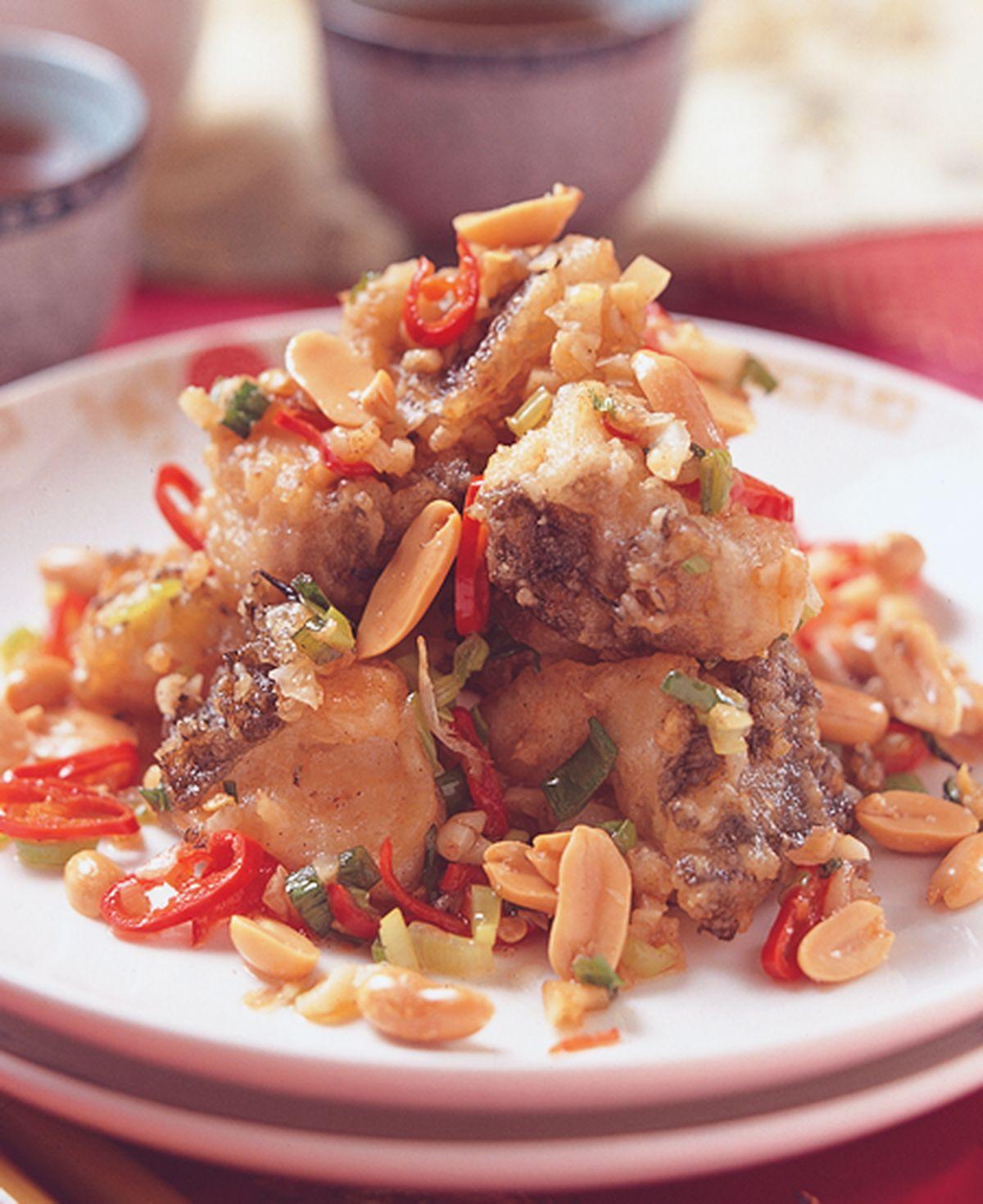 食譜:椒鹽魚塊