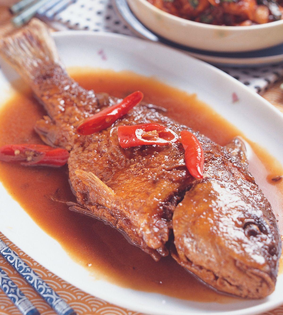 食譜:醬火靠鯉魚