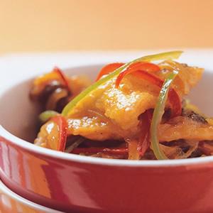 咖哩炒魚片
