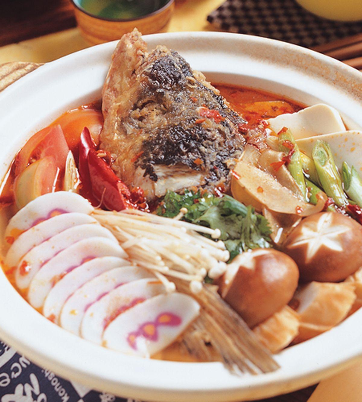 食譜:砂鍋魚頭(3)
