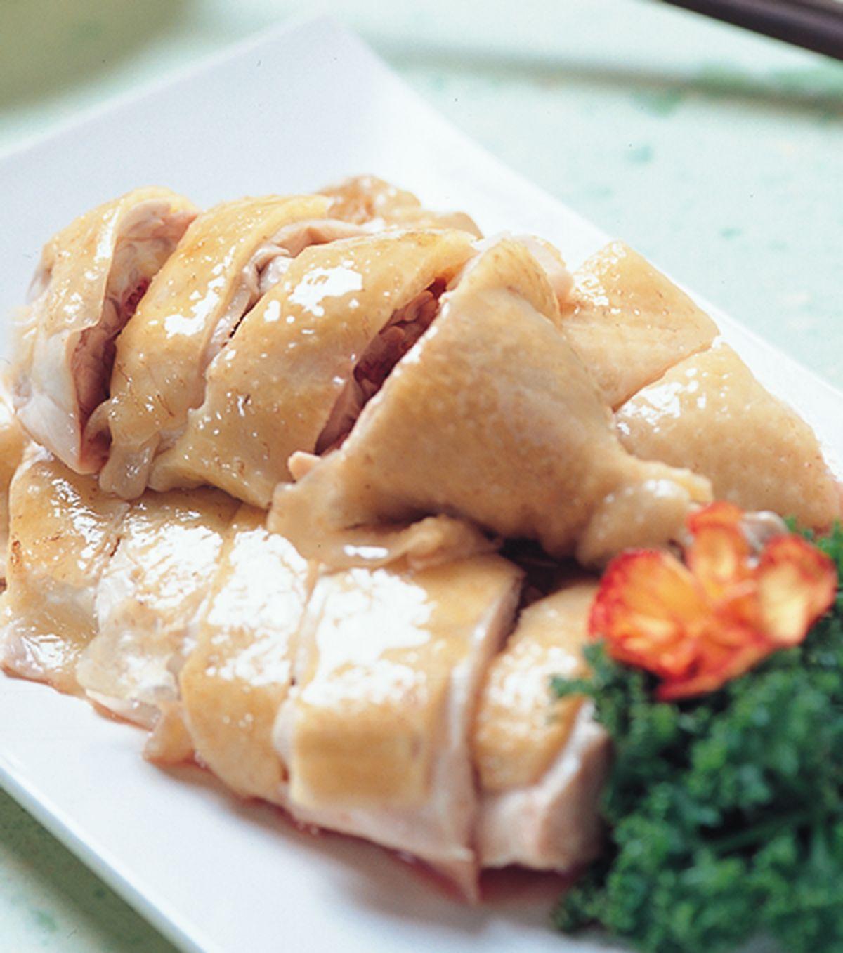 食譜:桔醬白斬雞
