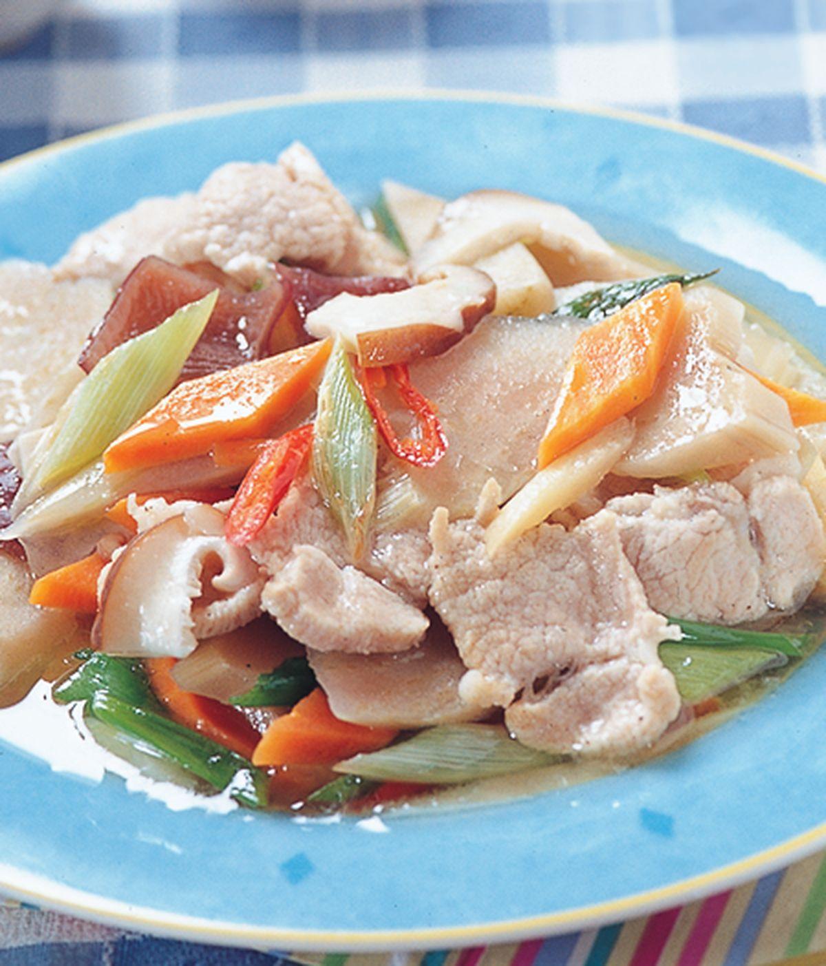 食譜:猴尾仔炒肉片