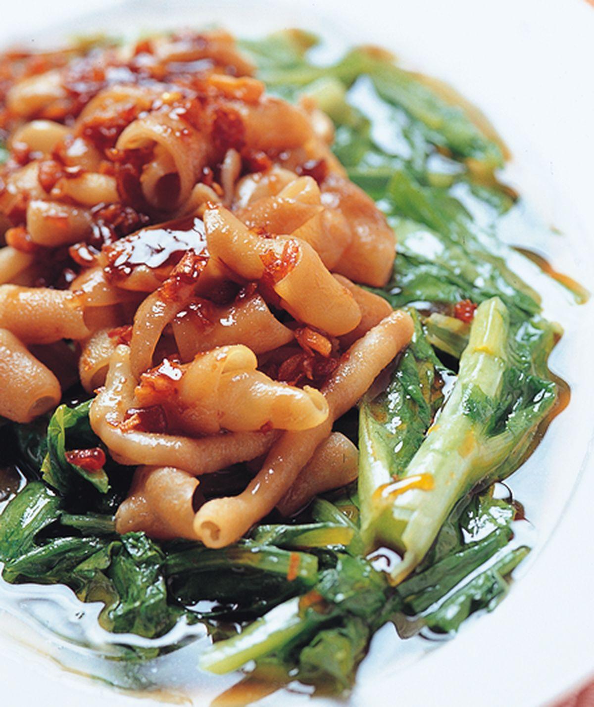 食譜:蔥油鵝腸