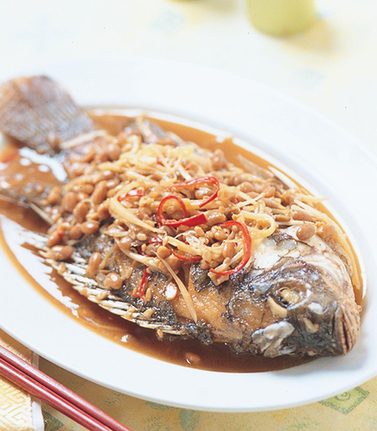 食譜:客家豆醬魚