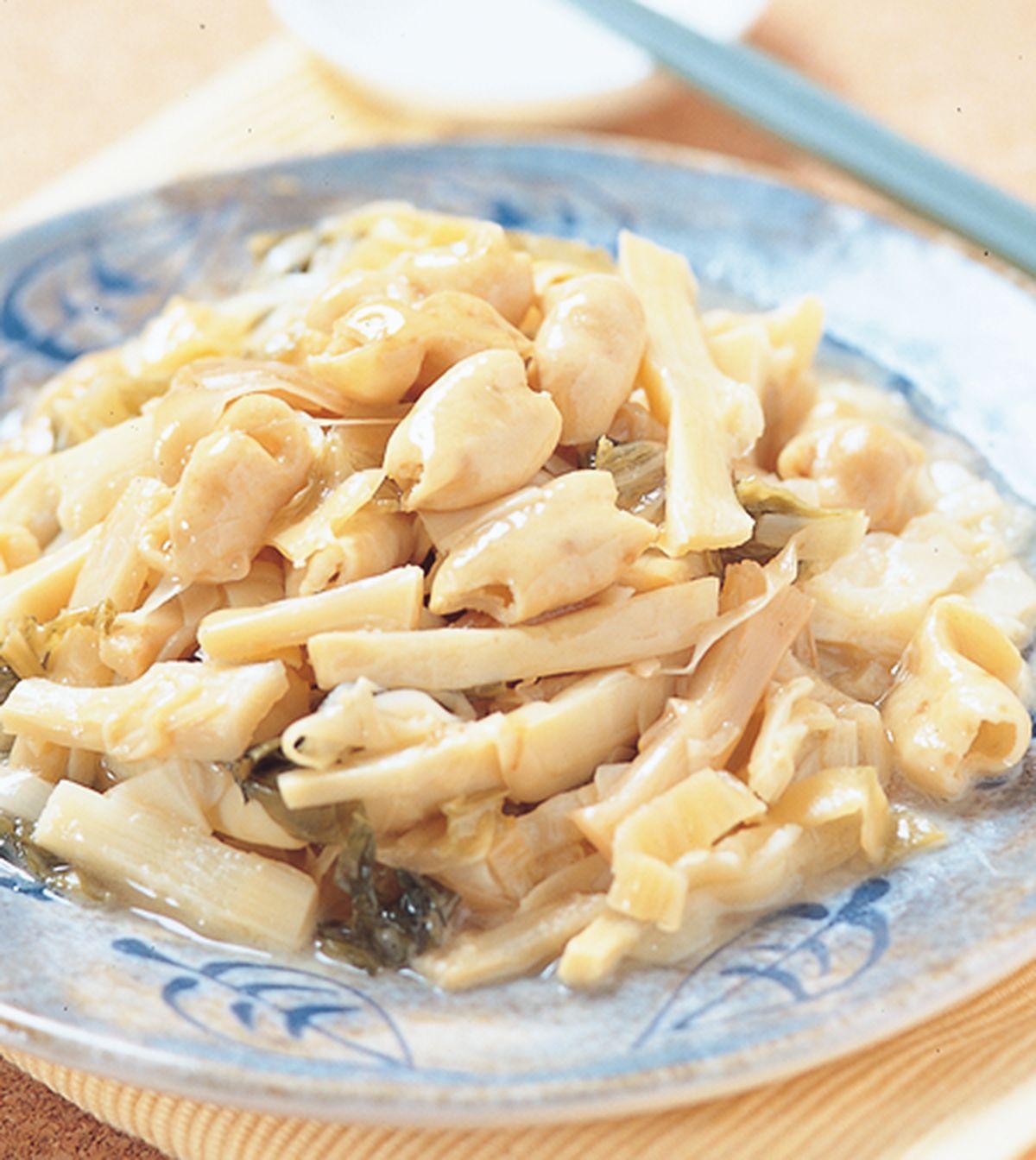 食譜:大腸炆筍干