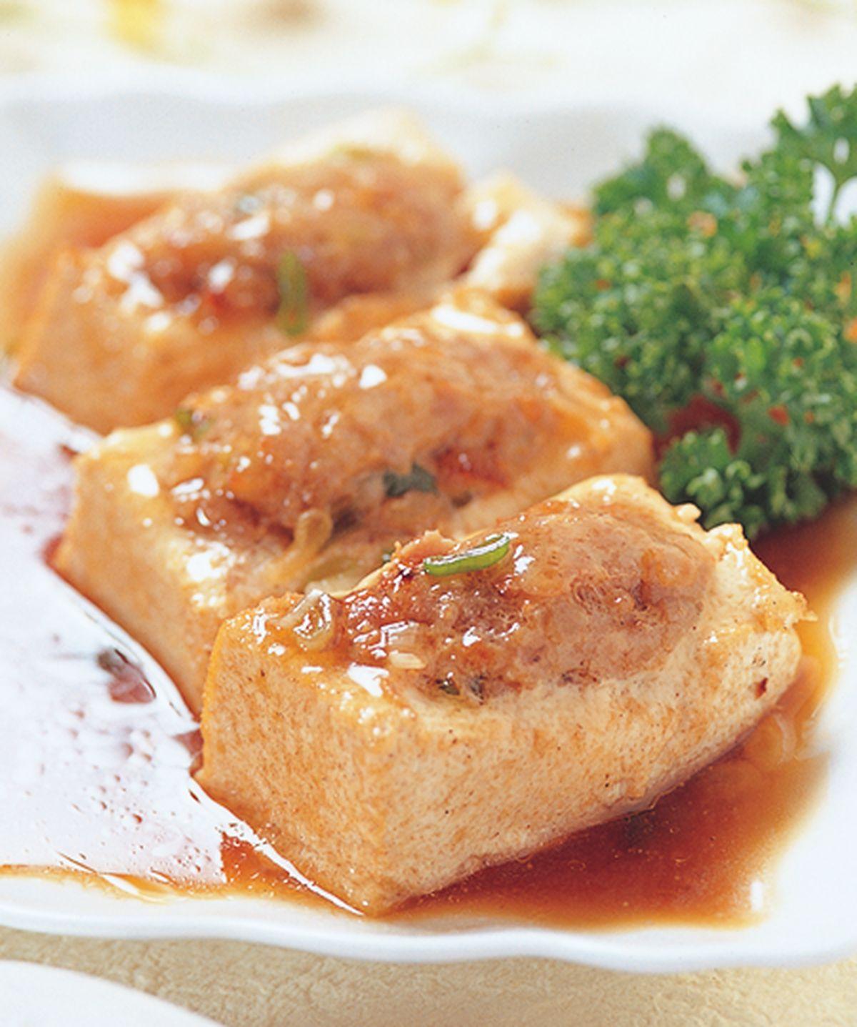 食譜:客家釀豆腐