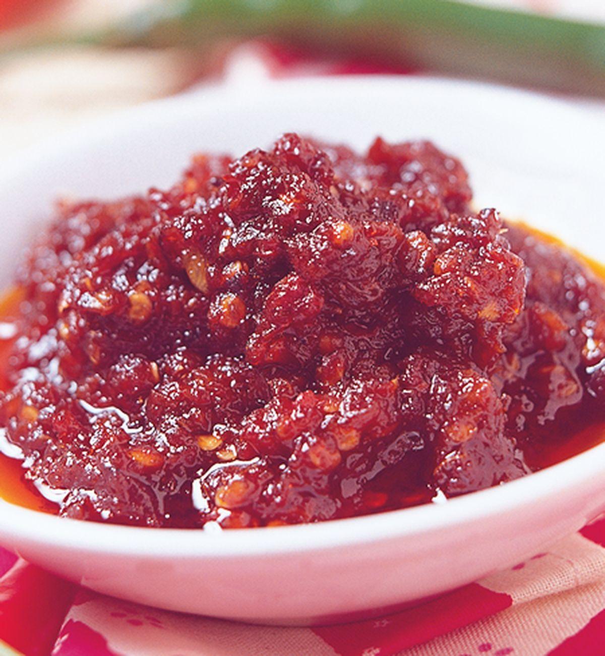 食譜:柱侯辣醬