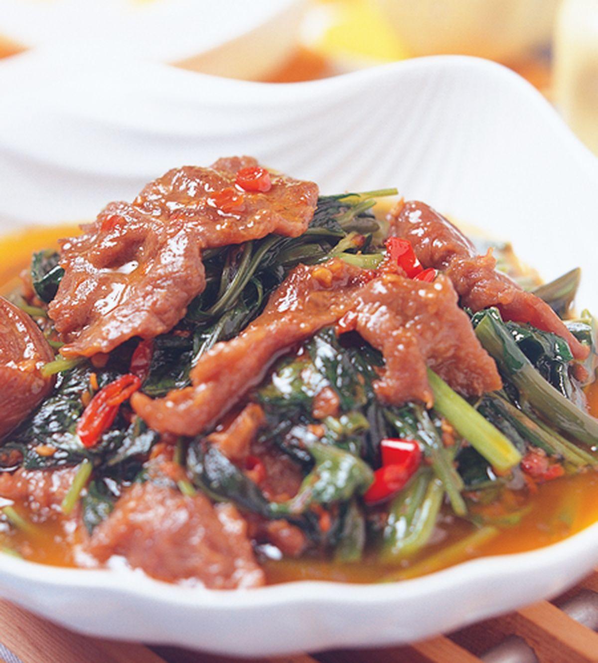 食譜:沙茶牛肉(2)