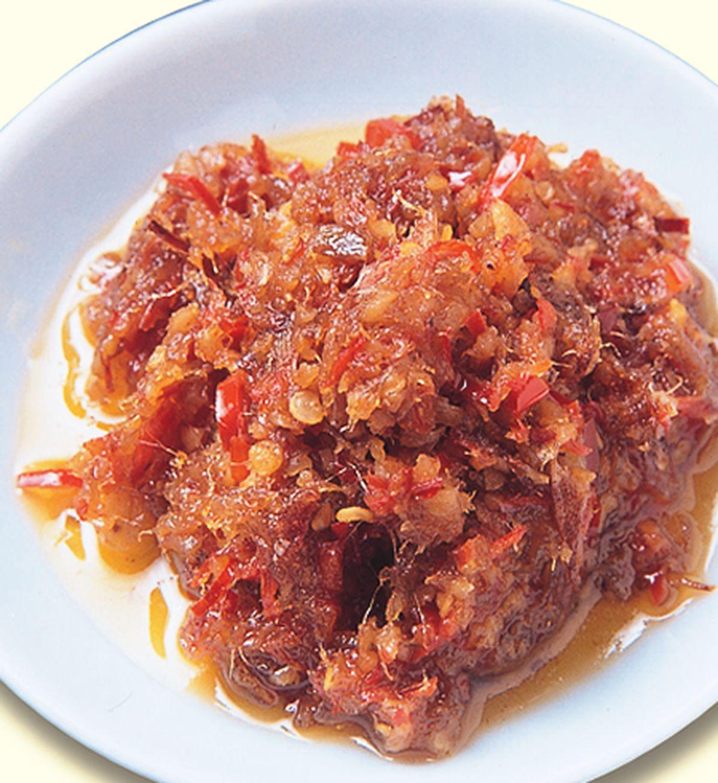 食譜:海味辣椒醬